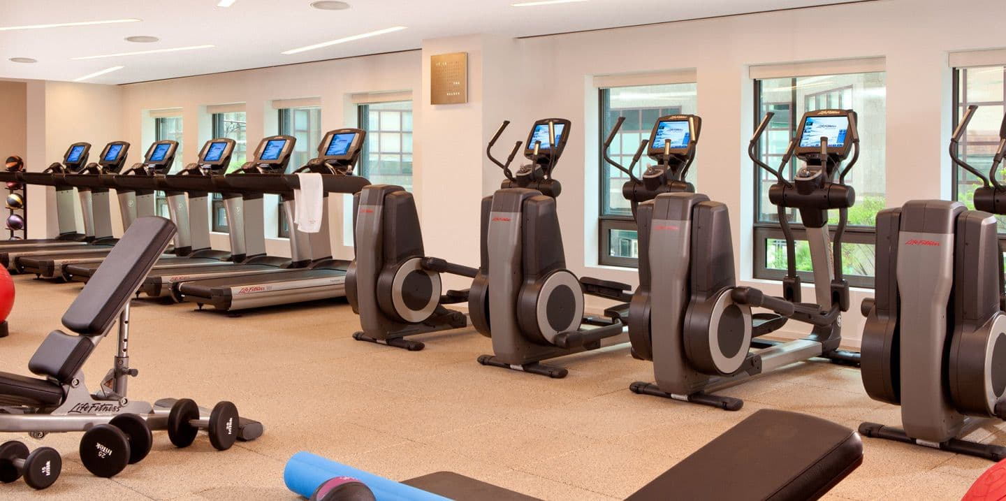 Conrad hotel fitness club