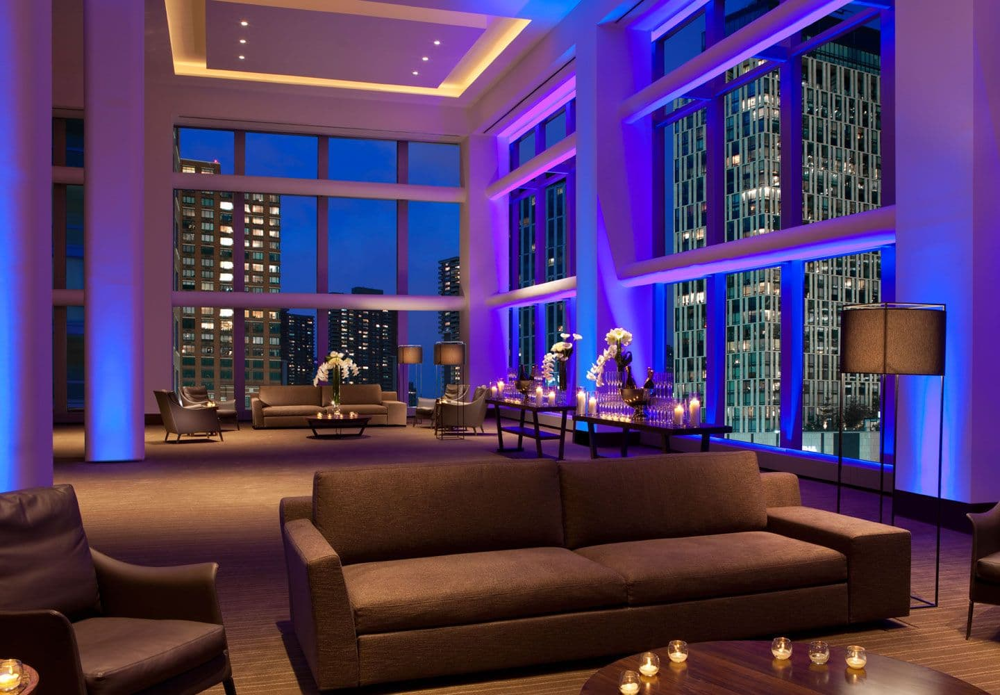 Conrad New York Offers 30 000 Square Feet Of Centrally Located Event E And Up To 18 Meeting Room Combinations Accommodating Events 600 Attendees