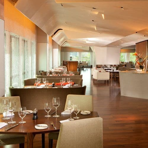 ATRIO Wine Bar | Restaurant is the all-day, full-service Mediterranean restaurant located on the hotel's lobby level.