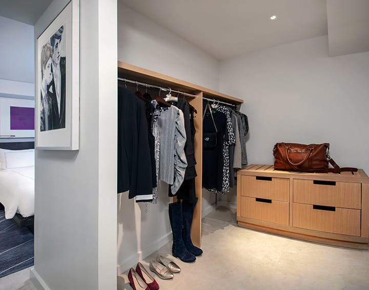 Executive Suite Closet